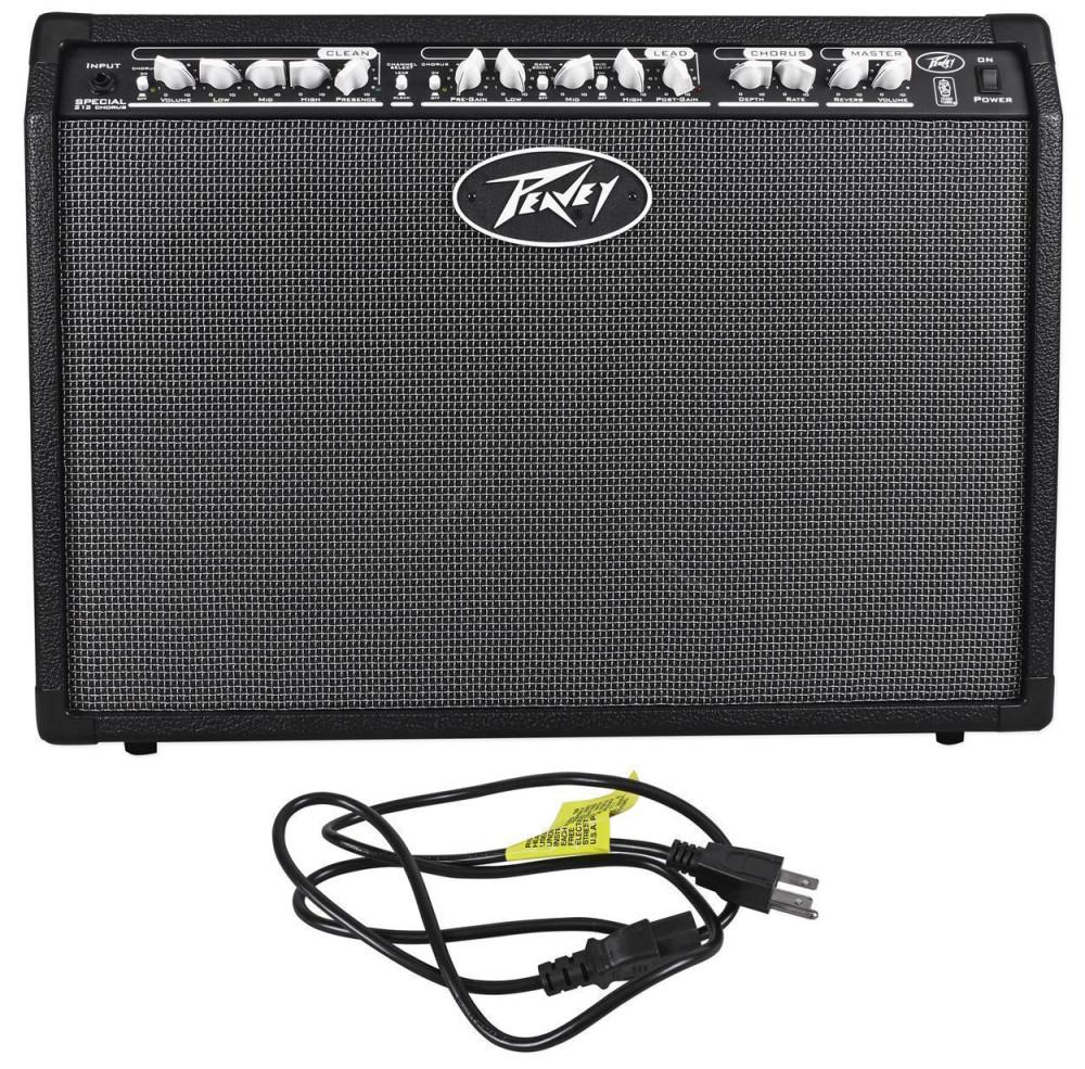 hight resolution of peavey special chorus 212 2 channel 100 watt 2x12 guitar amplifier combo amp audio savings