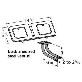 Broil King Stainless Steel Burner Assembly (14102-78202
