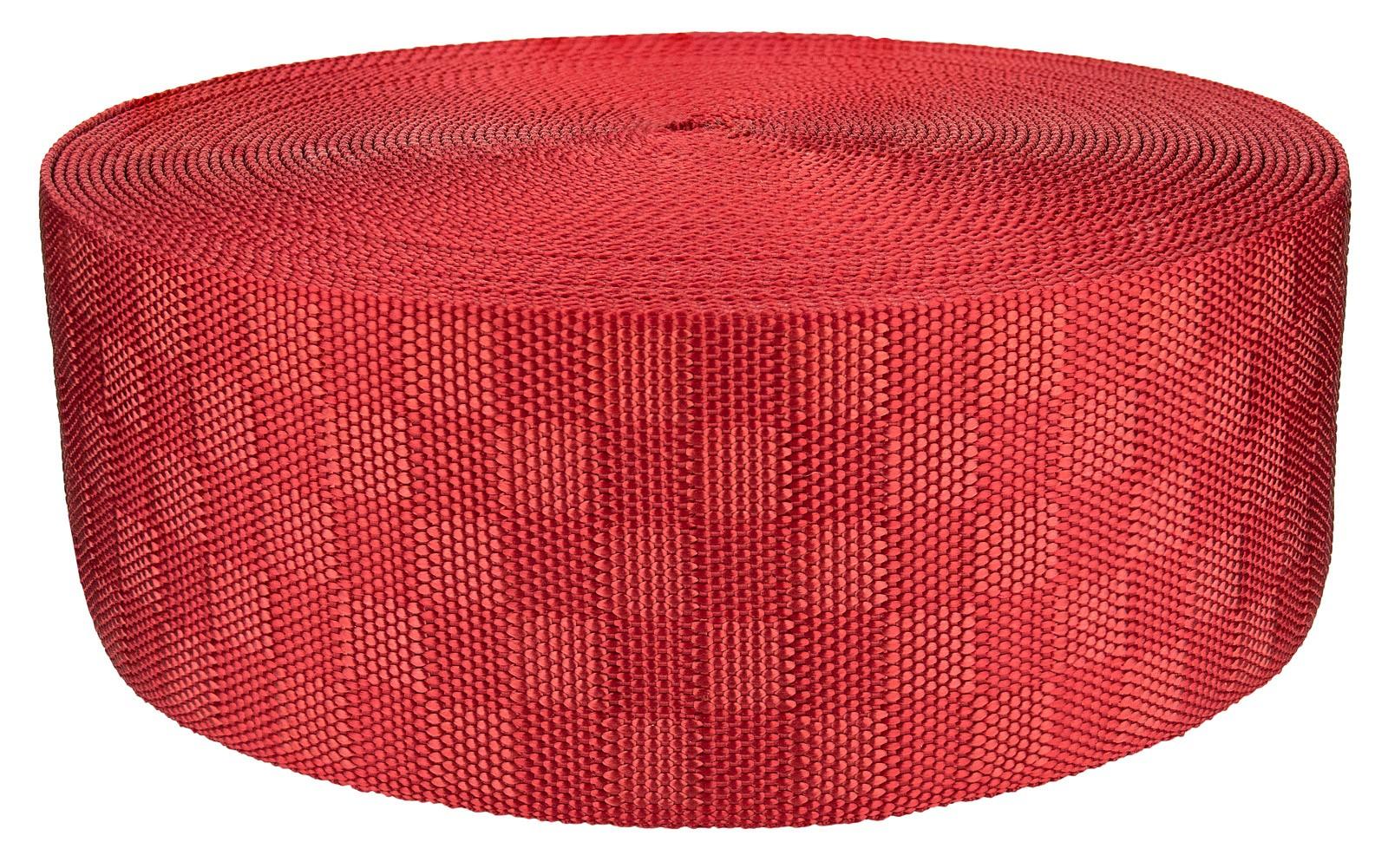 Buy 3 Inch Red Checkerboard Heavy Nylon Webbing Closeout