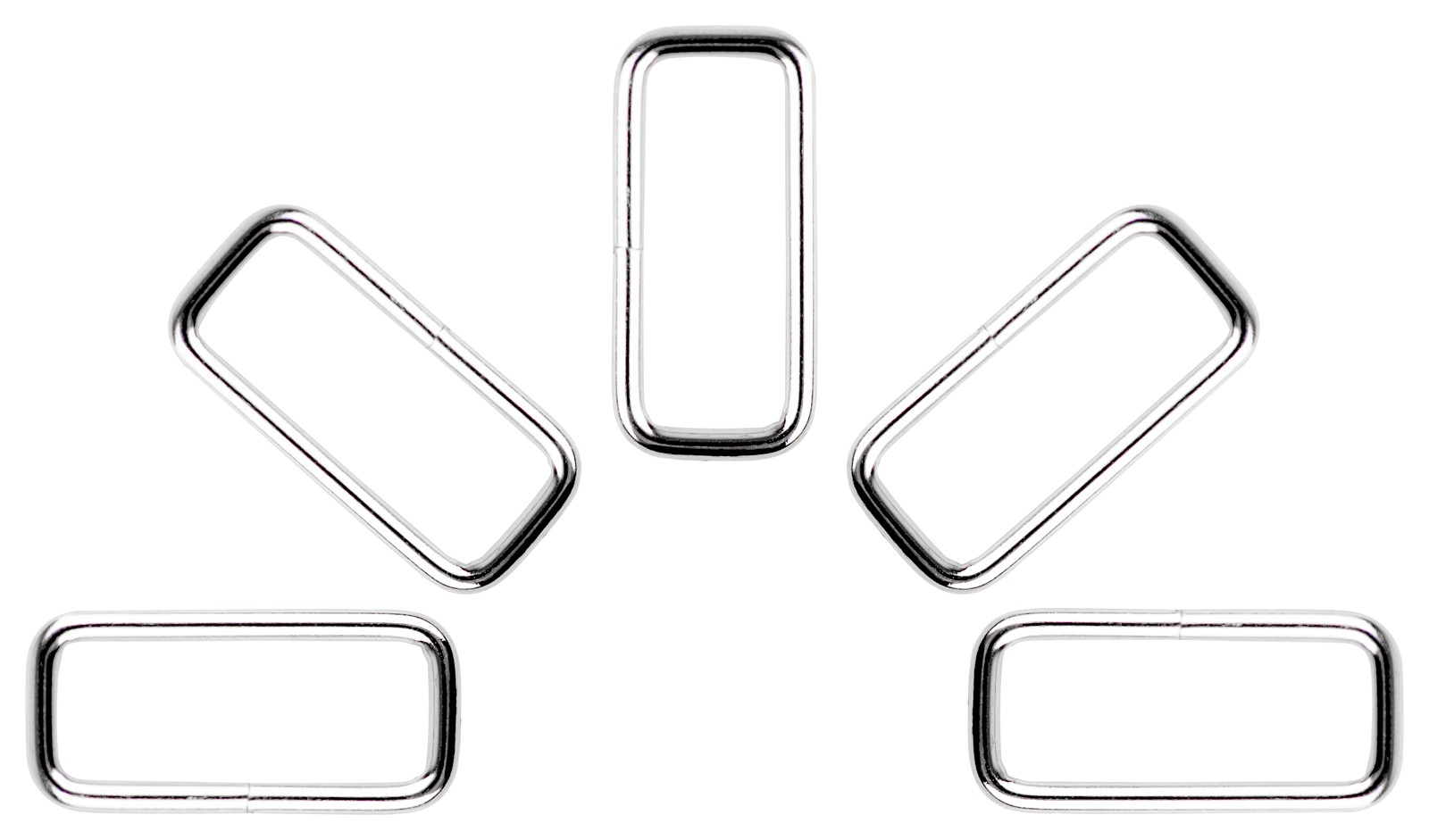 Buy 1 Inch X 3 8 Inch Lite Welded Rectangle Rings Closeout Online