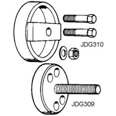 JDG300 6619 & 6531 Rear Crankshaft Wear Sleeve & Teflon