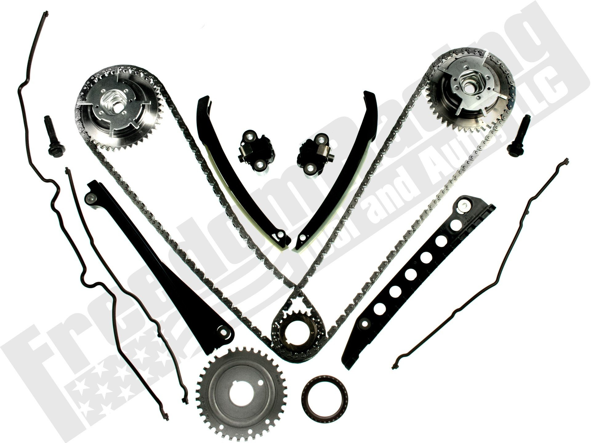 5.4L 3V 2004-2010 Cam Phaser & Timing Chain Replacement