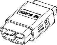 EL-47955-1 MDI 1, MDI 2 Self-Test Loopback Adapter Tool