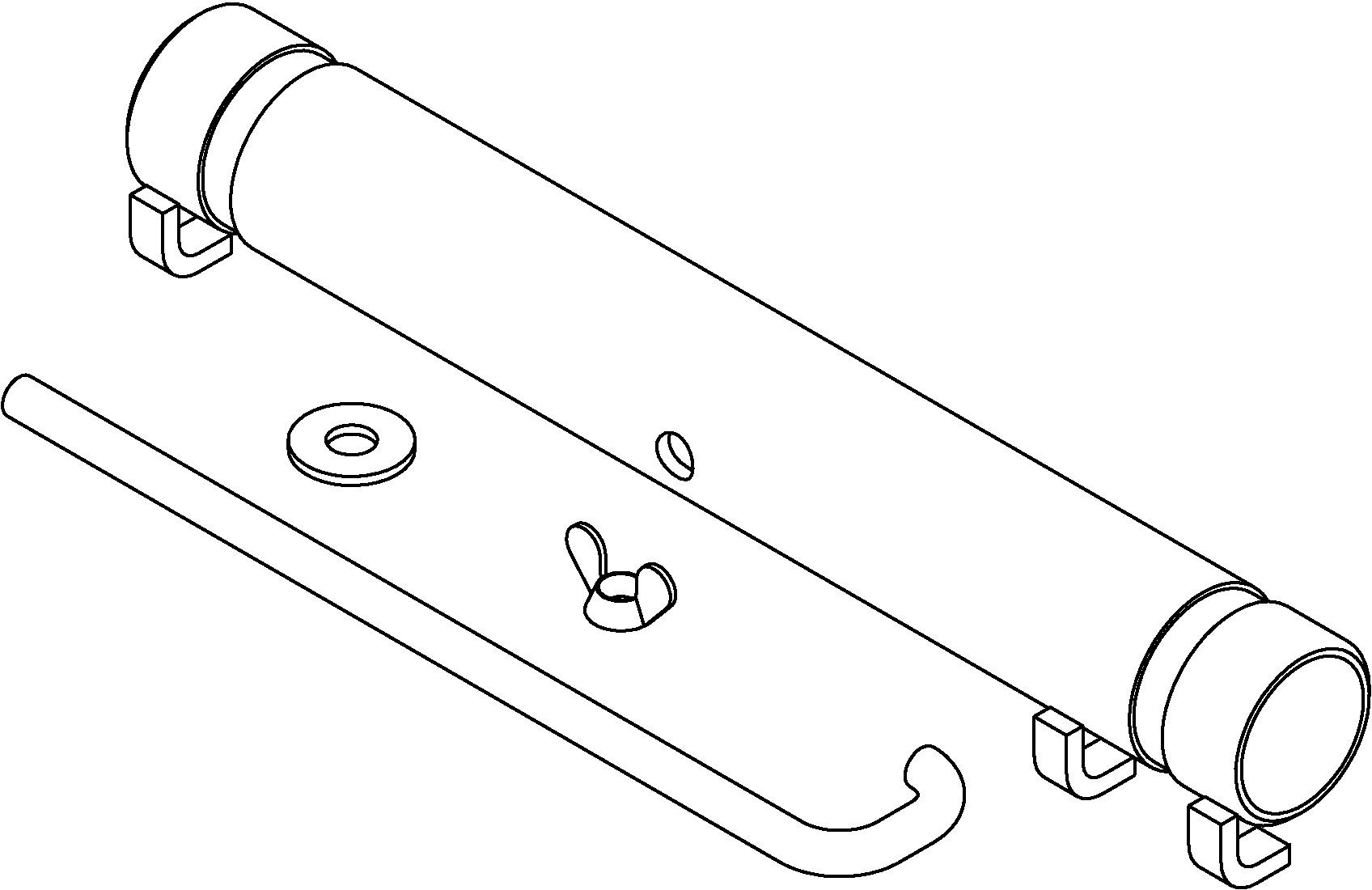 Coil Spring Compressor Adapter Tool J 15