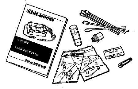 J-39400-TUNEUP-A Leak Detector Maintenance Kit