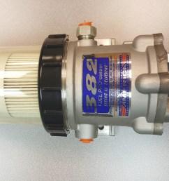 Davco Fuel Filter Housing - f110024 engine liquid catalog on