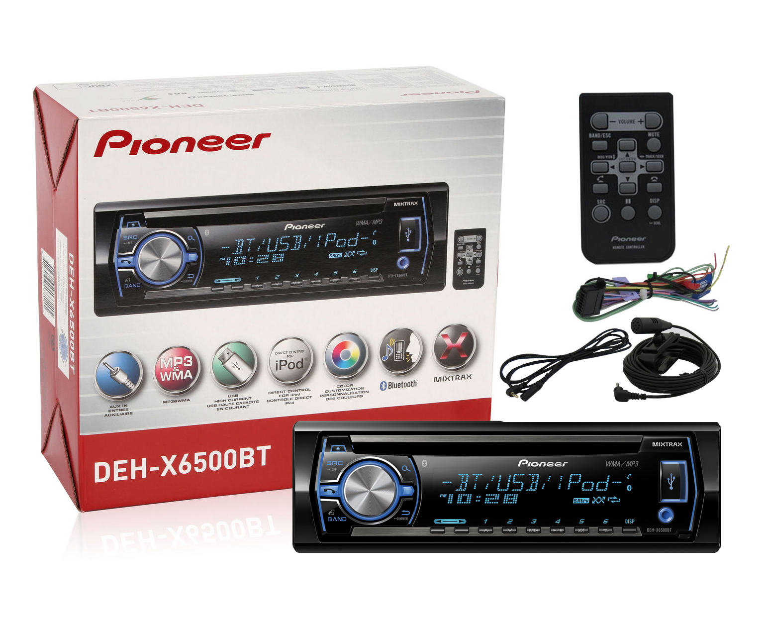 hight resolution of pioneer deh x6500bt instruction manual apple product pioneer 16 pin wiring diagram deh 1300mp wiring harness