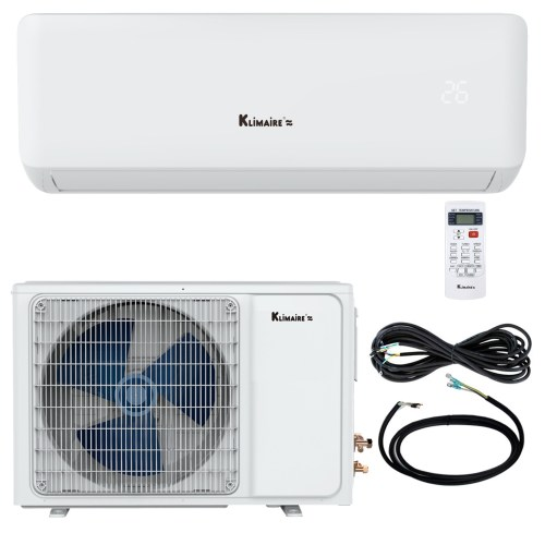 small resolution of 18 000 btu klimaire 17 seer ductless mini split inverter air conditioner heat pump and healthy