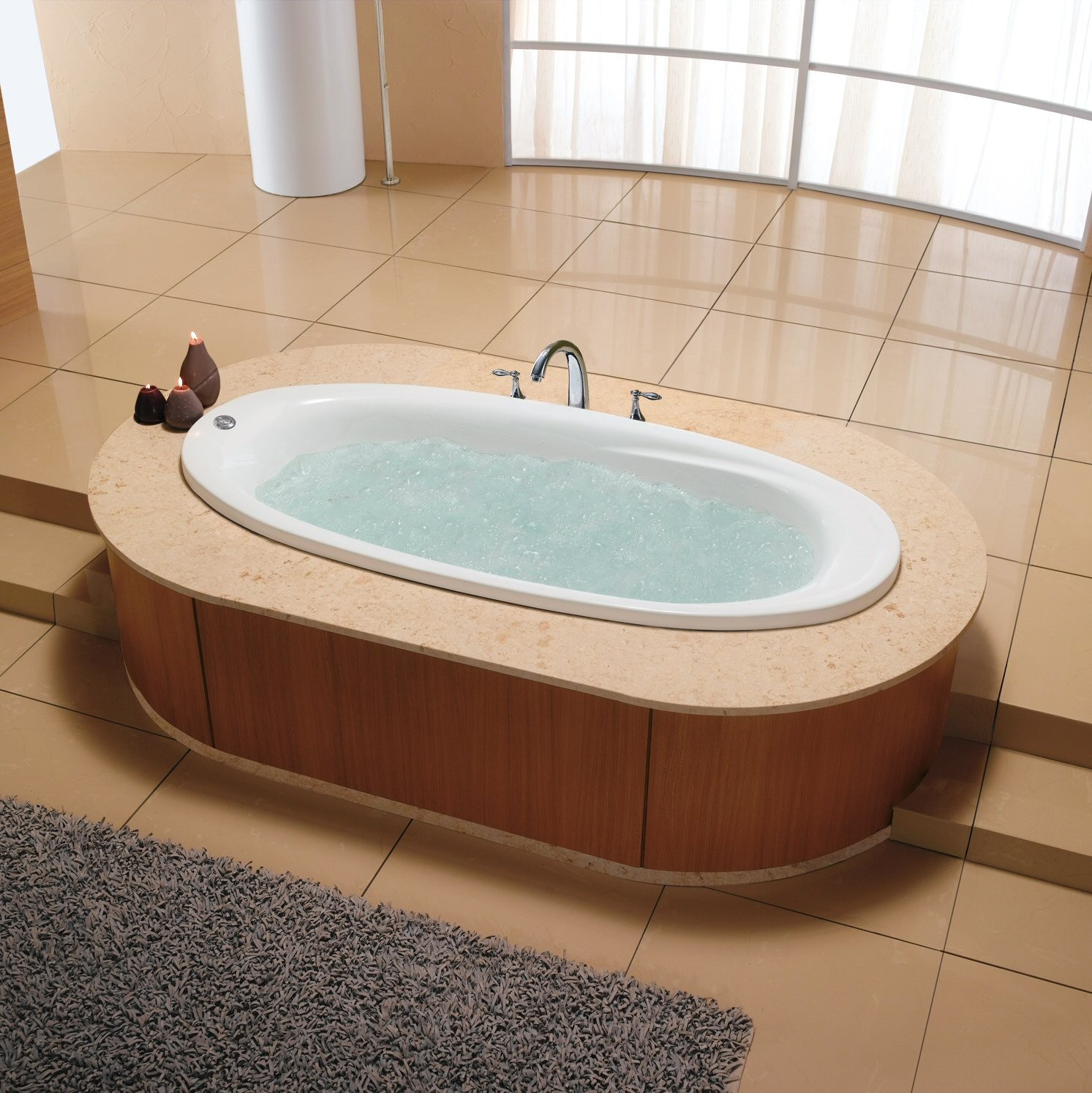 Manchester Heated Air Jet Tub