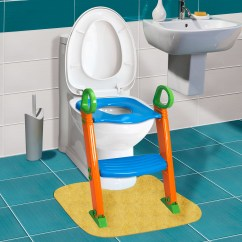 Potty Chair With Ladder Ergonomic Brand Kids Training Seat Step Stool For Child Toddler Toilet