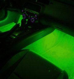 2010 2015 camaro interior footwell led lighting with dome light kit [ 1134 x 847 Pixel ]