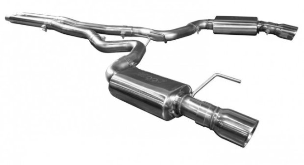 2015-2017 Ford Mustang GT KOOKS Catback OEM Exhaust With H