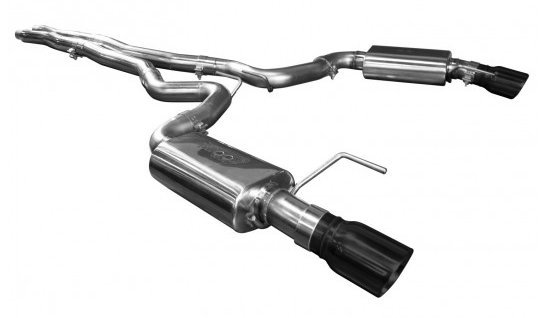 2015-2017 Ford Mustang GT KOOKS Catback OEM Exhaust With X