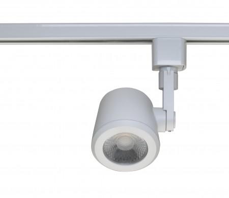 satco nuvo 1 light led 12w track head taper back white 36 degree beam 3000k th453