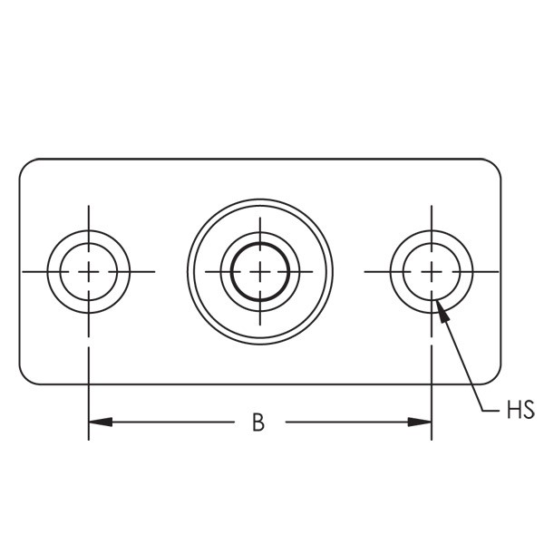 Caddy 365M0037EG 365M Malleable Iron Wall Or Ceiling Plate,