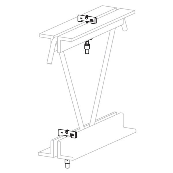 Caddy CRLJ37EG 3/8In Bar-Joist Hanger (Crlj37Eg)