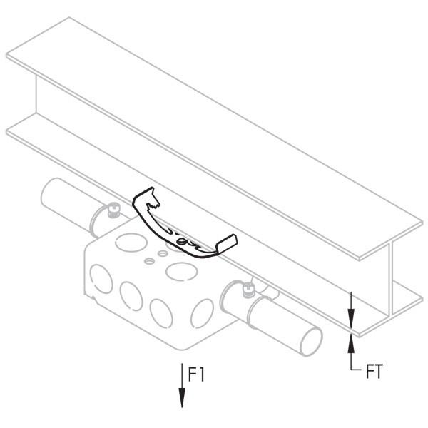 Caddy 4Z34 Multi-Function Clip, 1/4 Inch Rod, #12 Wire (4Z34