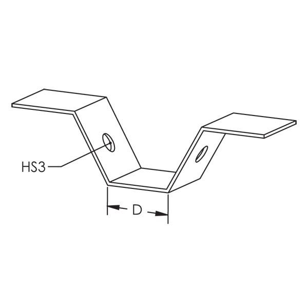 Caddy TDH Tdh Trapezoidal Deck Hanger (Tdh)
