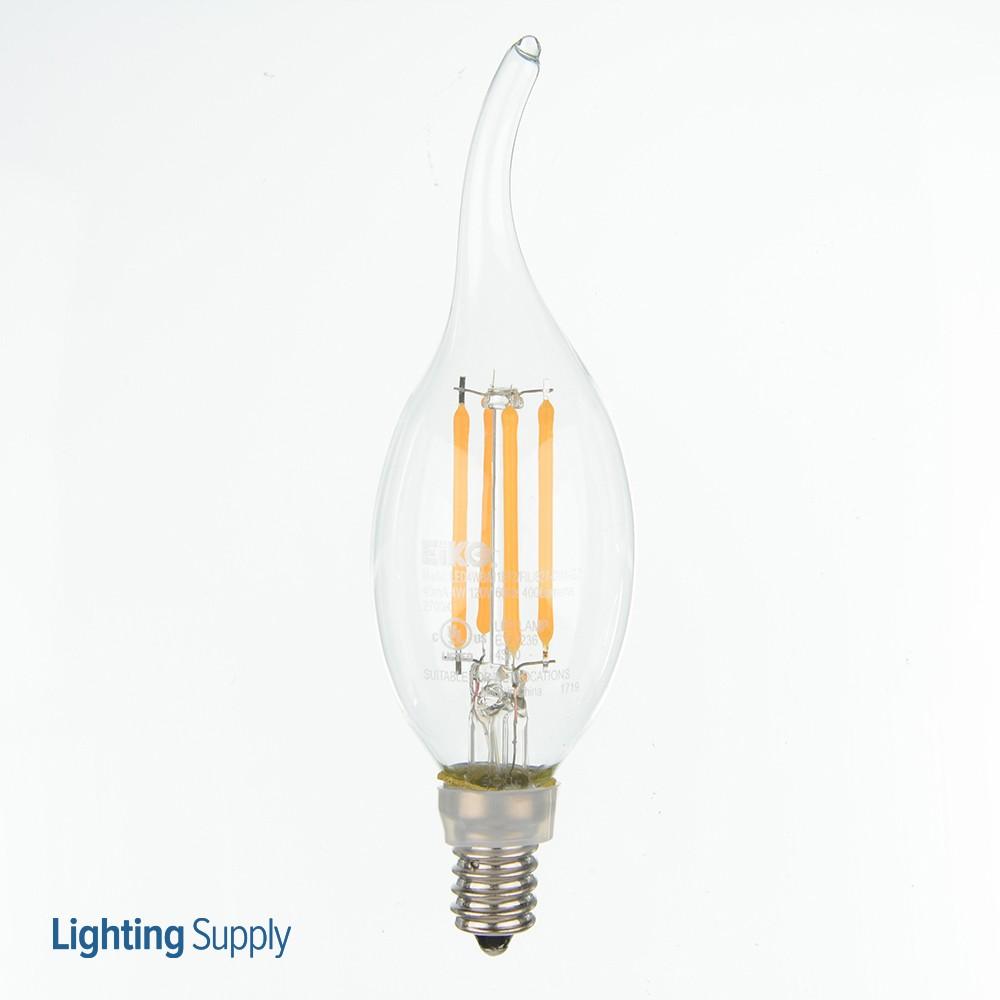 EIKO LED4WBA11E12/FIL/827-DIM-G7 LED Advantage Filament