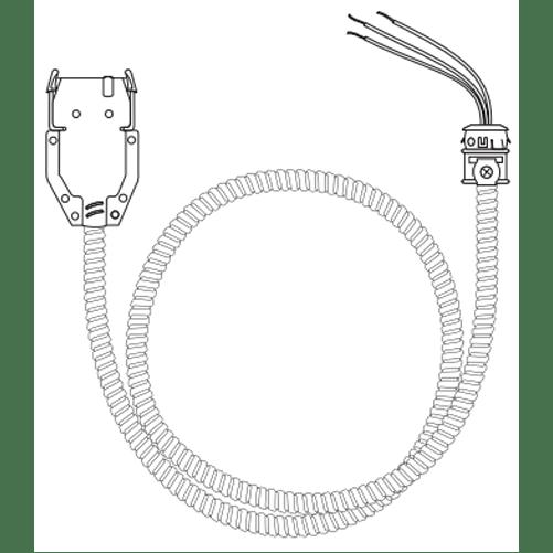 Lithonia QD120 12/3G09 M10 Quickflex Dropcable 120V 12Awg 3