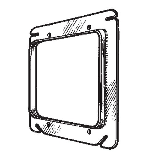 Mulberry Metal 4 Inch 2G Dry wall Cover 1/4 Inch (11238)