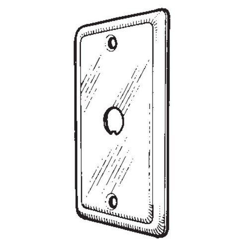 Mulberry Metal Appliance Switch Cover (10021)