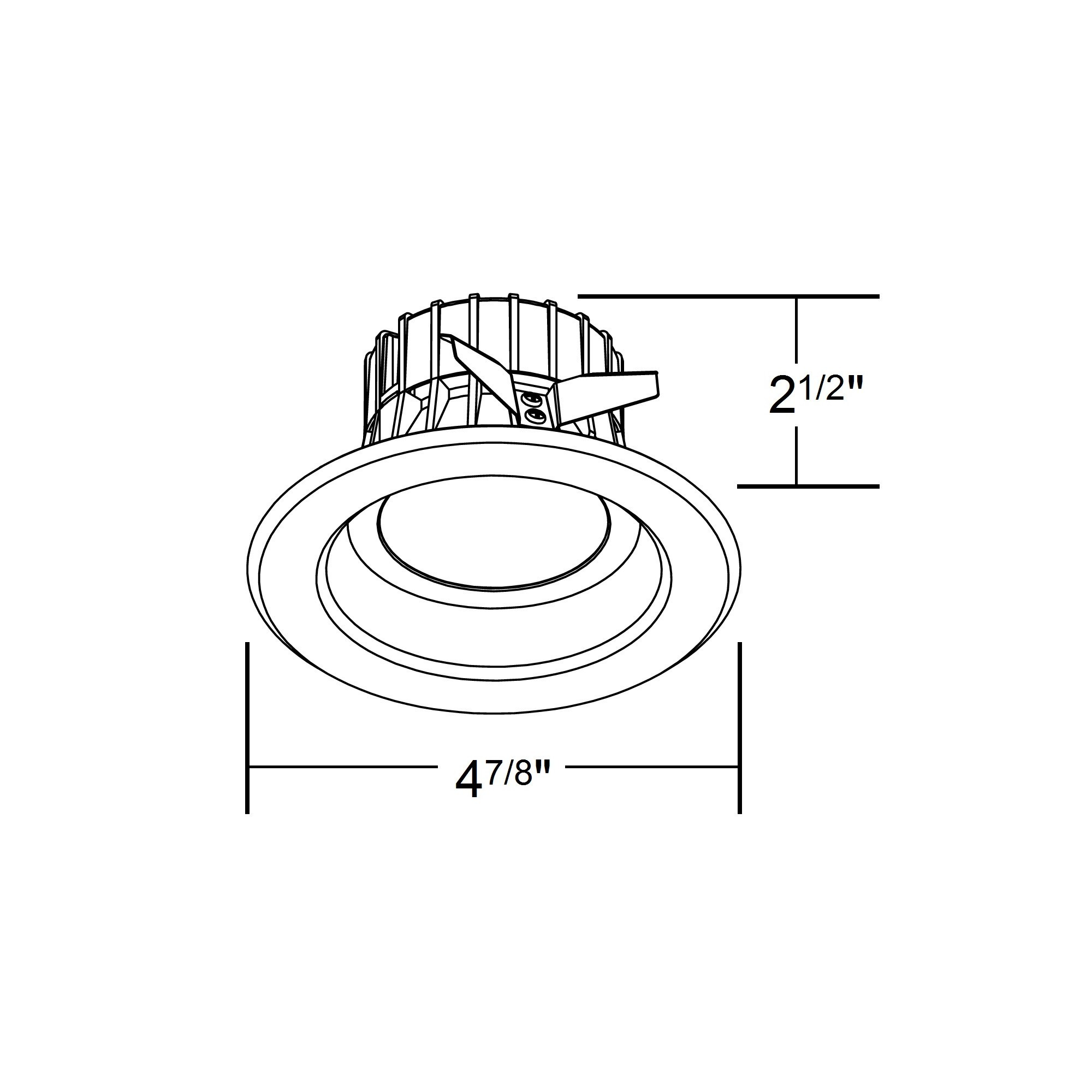 NICOR DLR4-3006-120-5K-NK 5000K 4 Inch Recessed LED Downligh