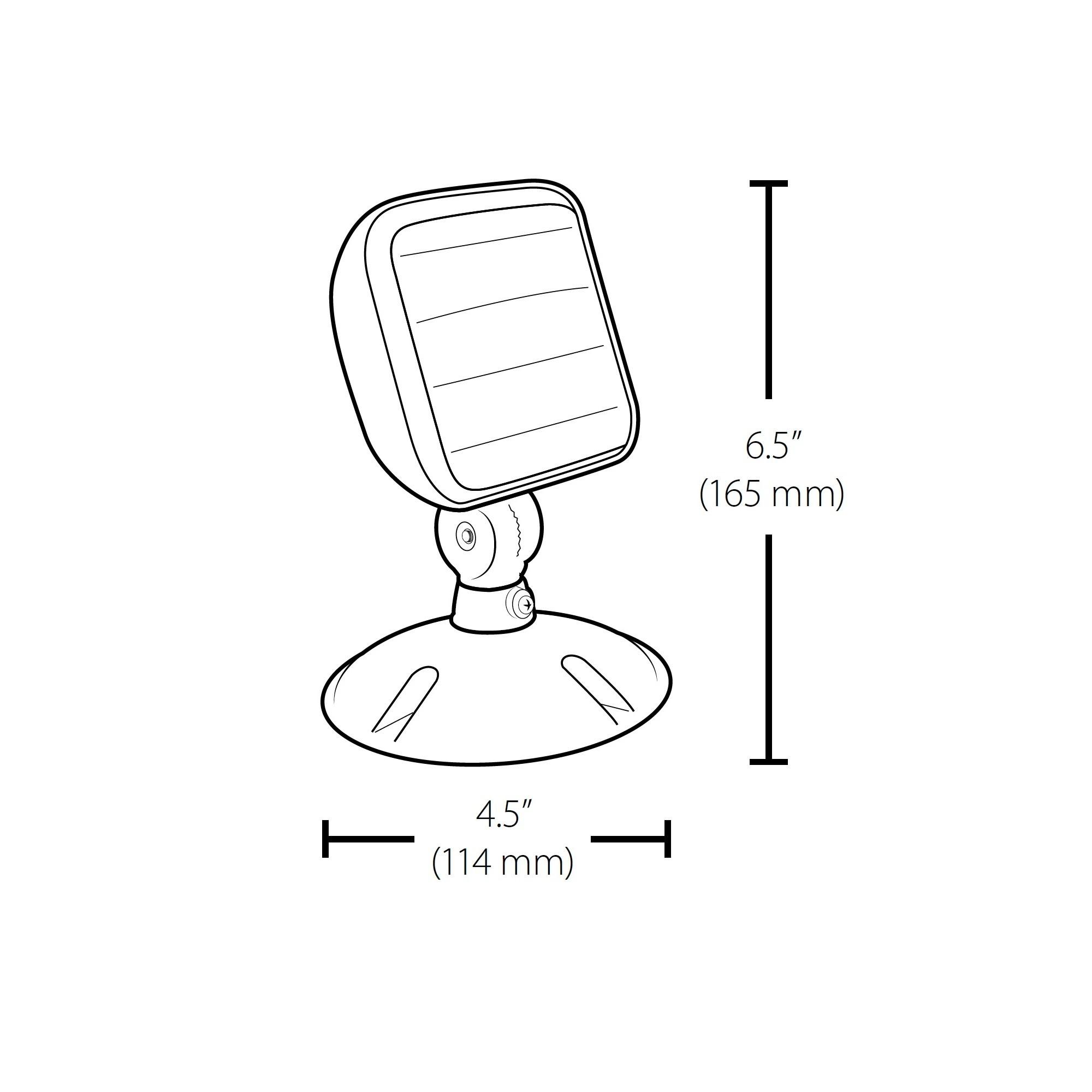 Nicor Erl3 10 Led Emergency Remote Head Lamp