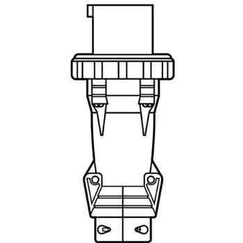 Pass and Seymour PS3100P4W P/S Plug 3-Way 100A 125V Wt (Ps31