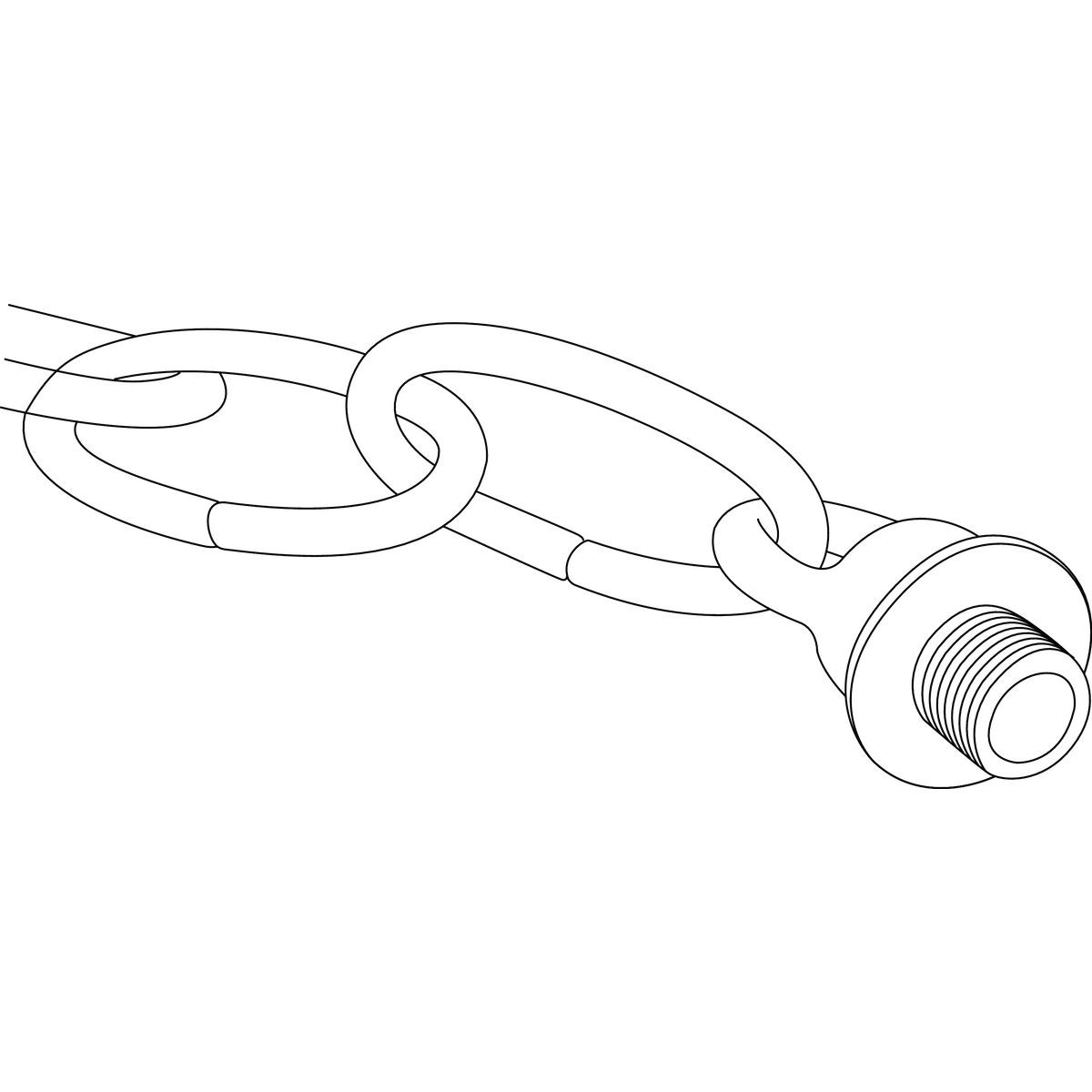 Progress Lighting Loop and Chain Hanging Accessory Kit