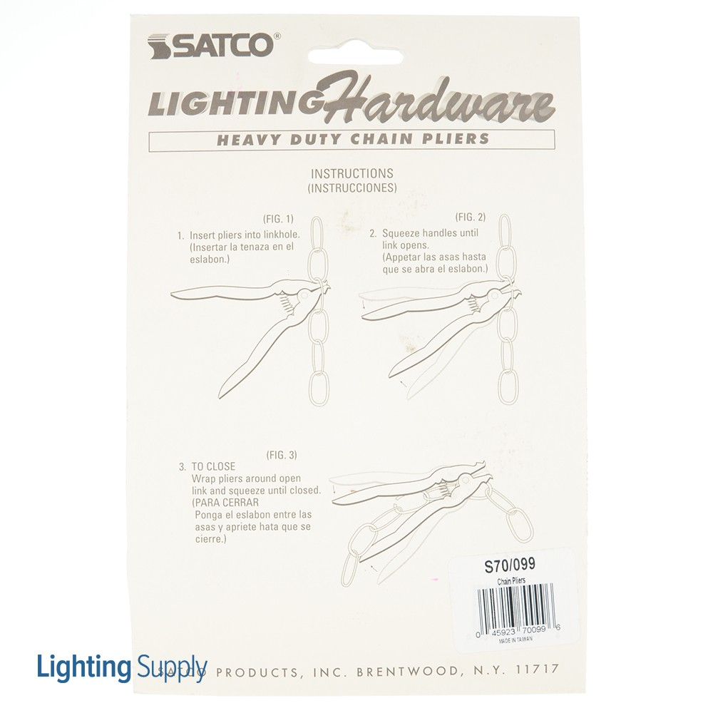 Satco S70-099 Chain Opening Pliers (S70-099)