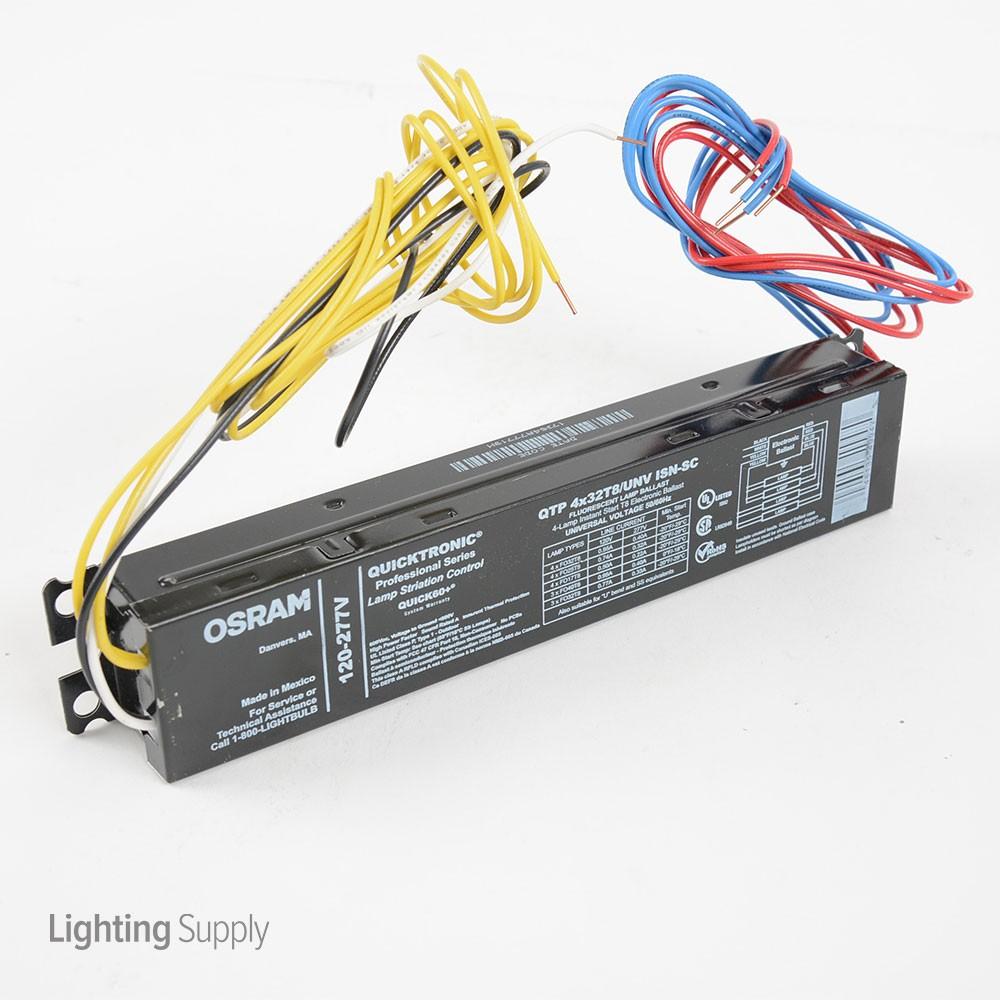 4 Lamp Instant Start Ballast Wiring Diagram
