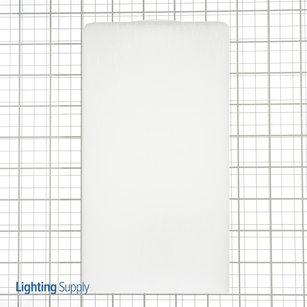 Westinghouse 8500400 White Linen Cube Shade 2-1/4 Inch Fitte