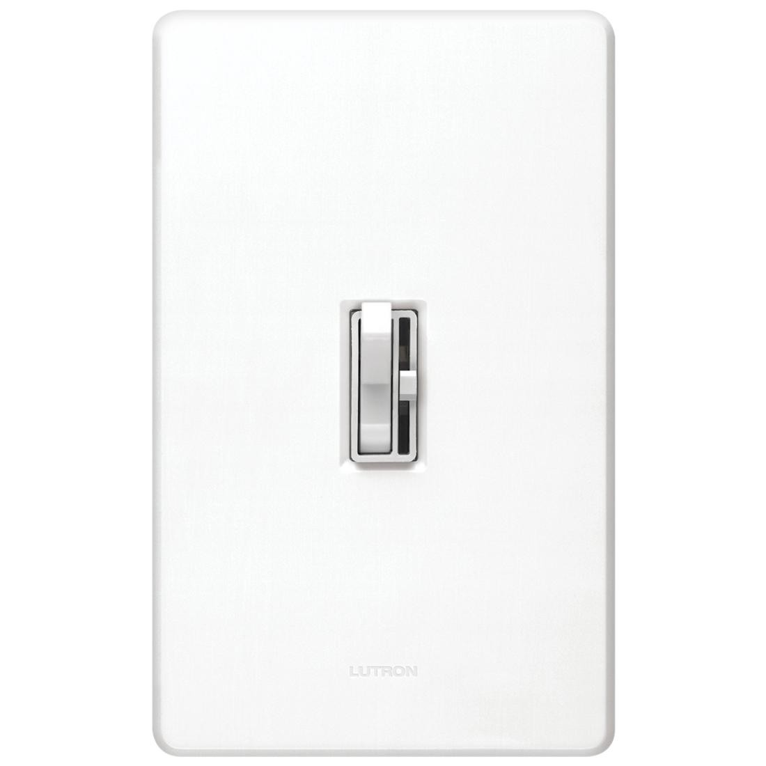 Lutron Ay 603p Wh Ariadni White Incandescent Toggle Dimmer 1