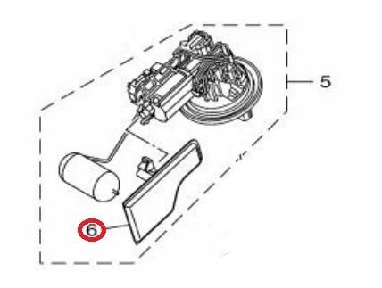 Yamaha Filter, Fuel Suction