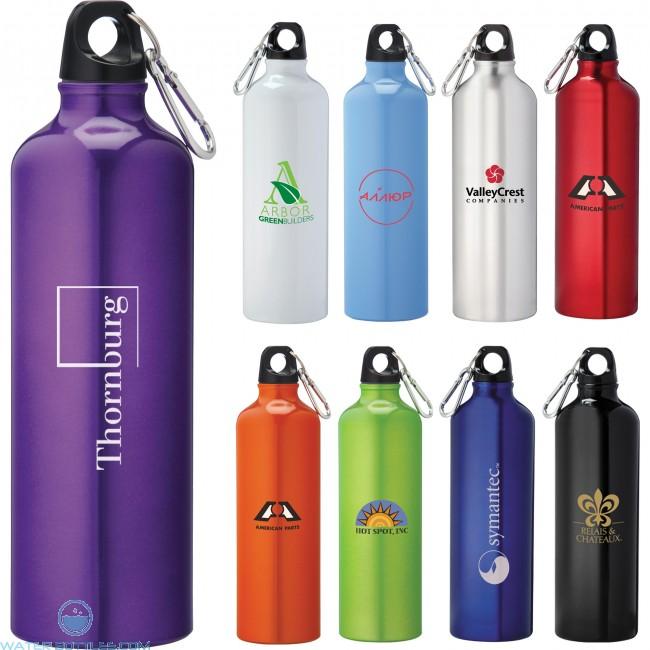 pacific aluminum sports bottles