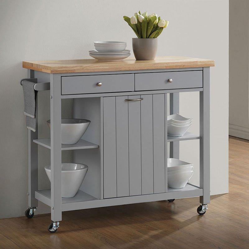 large kitchen cart cabinet door styles natural light grey