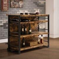 Industrial Home Bar Coaster Furniture | Furniture Cart
