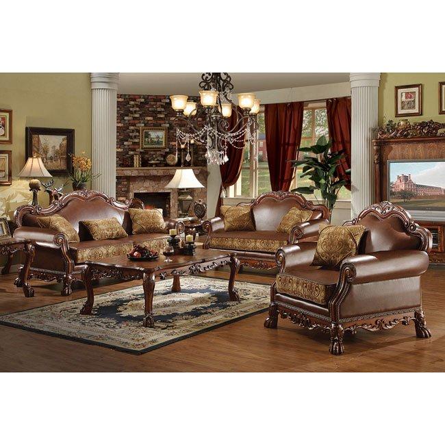 Dresden Living Room Set Acme Furniture Furniture Cart
