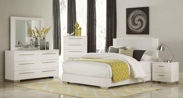 Linnea Bedroom Set Homelegance 1 Furniture Cart