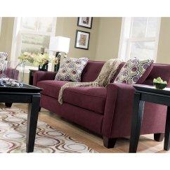 Eggplant Sofa Upholstery Plymouth Uk Danielle Signature Design Furniture Cart