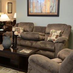 Triple Reclining Sofa Bunk Beds Bottom Transformer W Drop Down Table Seal Catnapper Furniture Cart