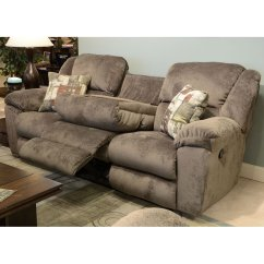 Double Reclining Sofa With Fold Down Table Jc Penny Sofas Transformer Power Recliner W Drop | Www ...