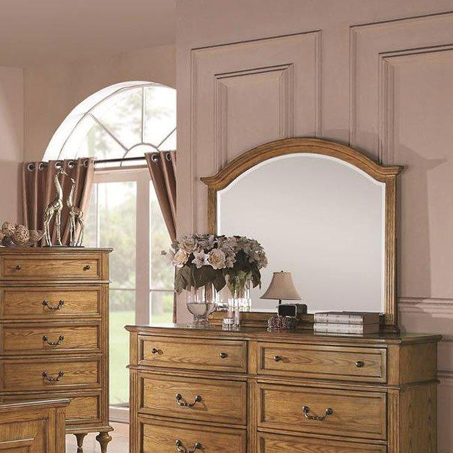 Emily Bedroom Set Light Oak Coaster Furniture  Furniture Cart