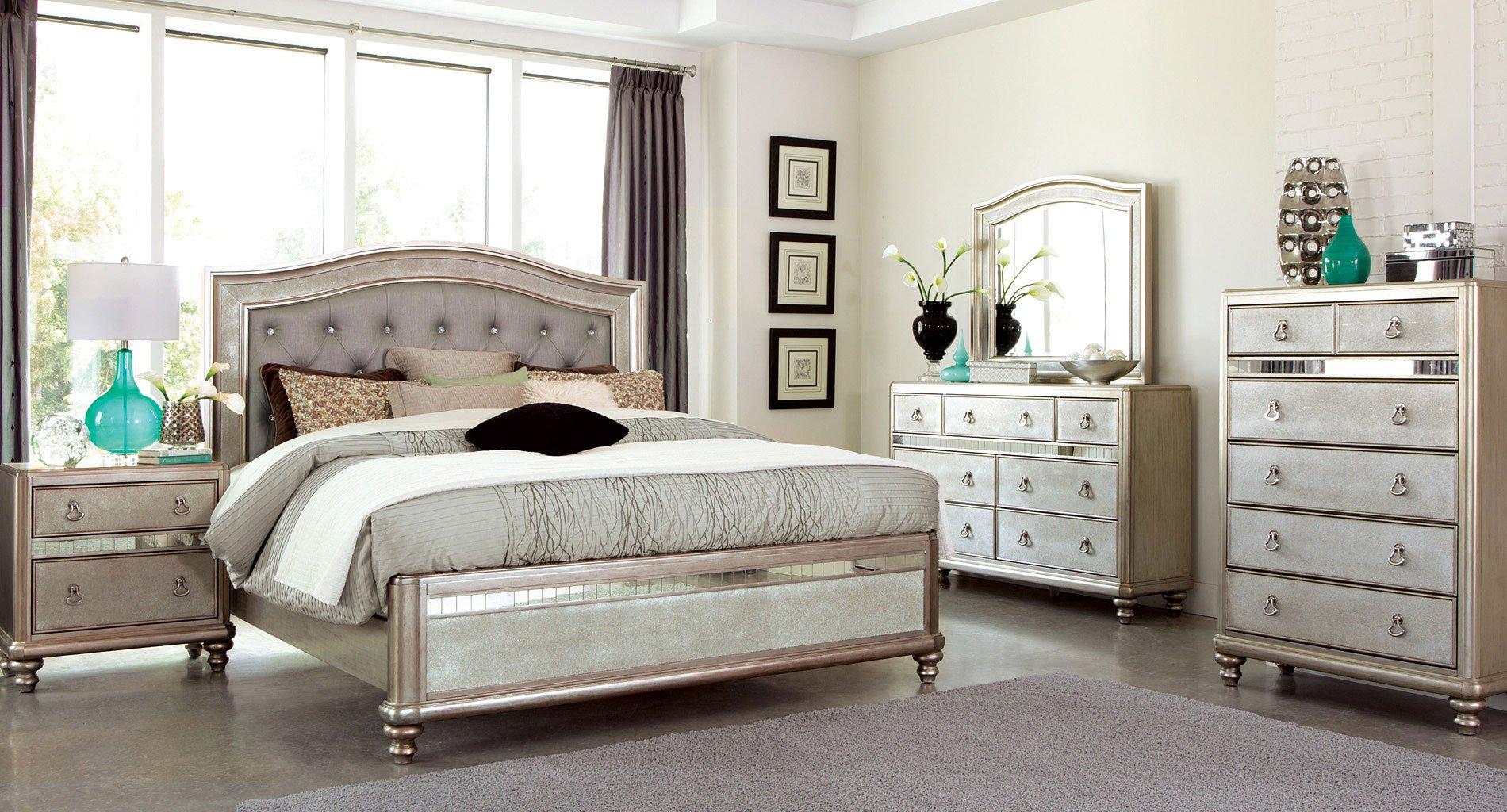 Bling Game Panel Bedroom Set Coaster Furniture 3 Reviews
