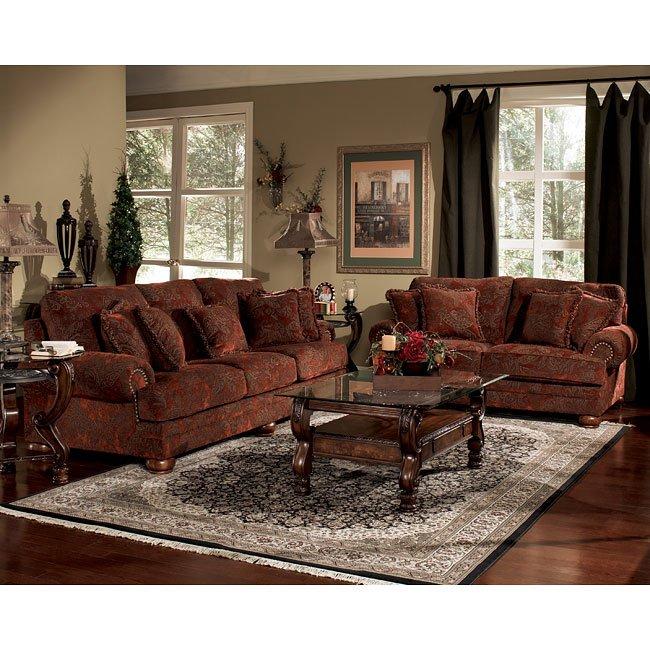burlington sienna living room set signature design by ashley 1 reviews furniture cart