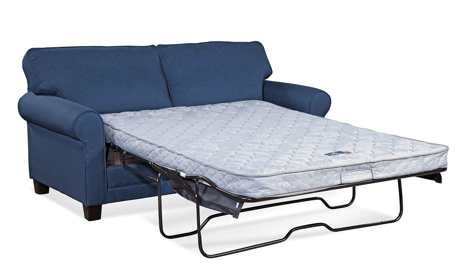 3700 series jitterbug denim sleeper hughes furniture furniture cart