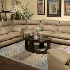 Catnapper Reclining Sofa Nolan Jackson Furniture Belmont Chenille Sectional Set Putty
