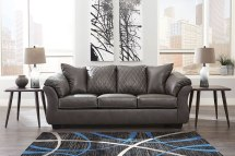 Betrillo Gray Sofa Signature Design Furniture Cart