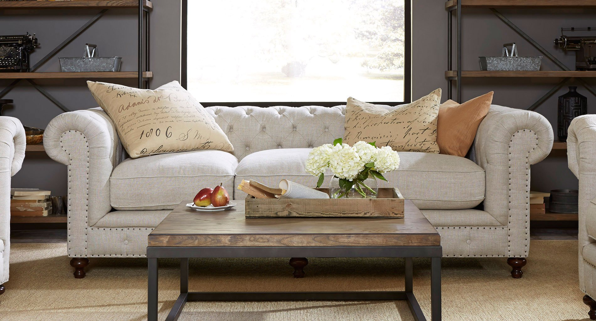belgian linen sofa u shape berkeley living room set universal